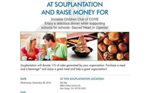 Souplantation helps Invisible Children