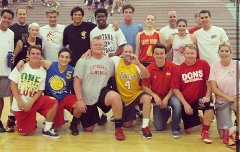 Faculty scores big in seniors vs. faculty basketball game