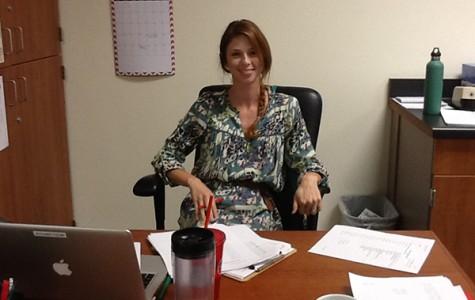 Mrs. Kendell Middlebrook moves up from hogs to CC students