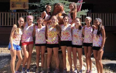 "Girls' varsity cross country team ""ready to run"""