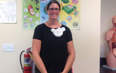 """Dr. Krivacek hopes to """"excite students about science"""""""