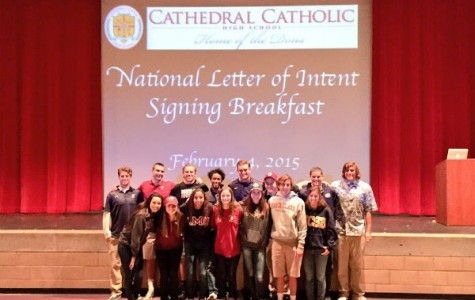 Seventeen senior athletes sign National Letters of Intent