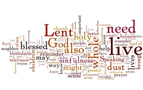 Lenten sacrifices help students better themselves