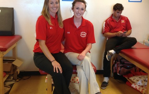 Cathedral trainers keep athletes healthy, inspire students