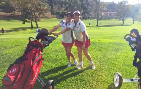 Girls Varsity B Golf team prepares physically, and mentally, for their season