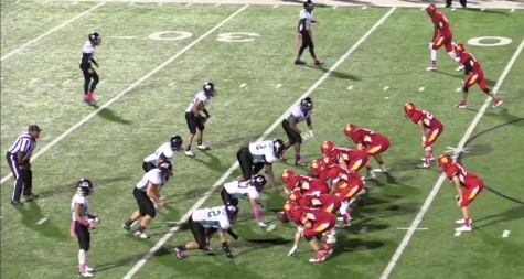 Varsity Dons football team wins 35-19 in homecoming game