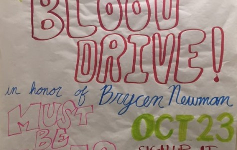 Blood mobile visits CCHS in Newman's honor