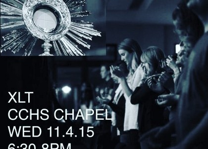 Campus Ministry invites students to love and worship at XLT Nights