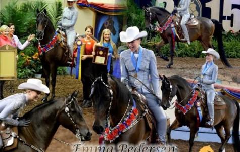 CCHS senior Pedersen wins equestrian gold medal