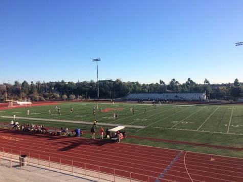 Varsity girls lacrosse defeats United Kingdom team