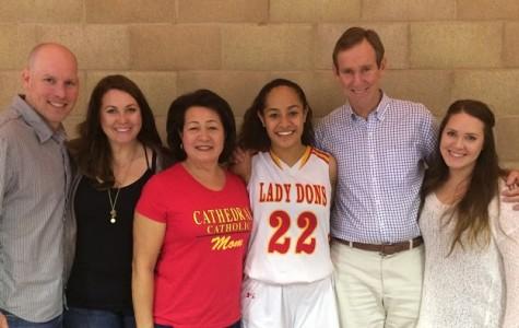Standout athlete freshman Kaylee Stiffler joins girls varsity basketball team