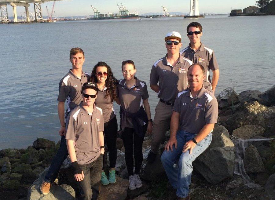 The CCHS sailing team competed in the Golden Bear regatta this past February.