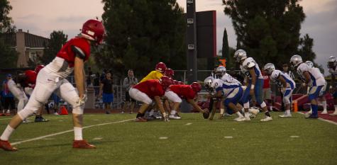 Varsity football prepares for Friday Night Lights