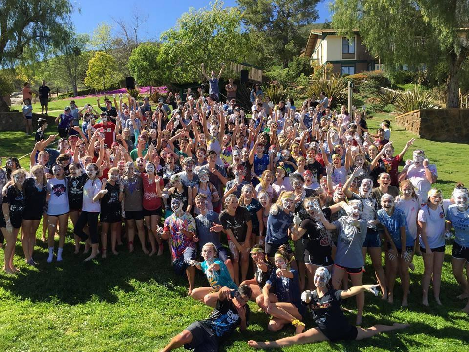 At Oakbridge Young Life Camp, one of the locations for the new Kairos Retreat, CCHS students join their youth groups on Spring Retreat.