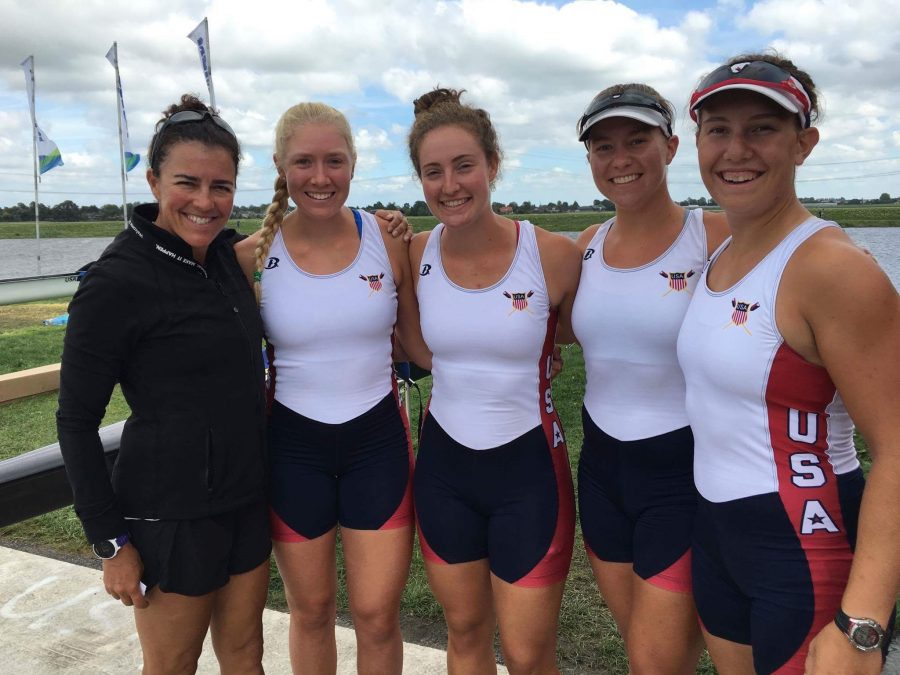 Jenna+Van+de+Grift+rows+to+victory+in+the+2016+World+Rowing+Championships.%0A