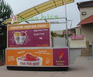 Jamba Juice new to food court