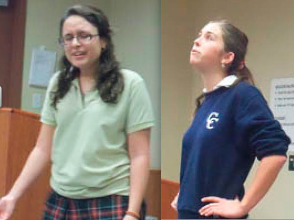 Students may participate in Shakespeare Competition