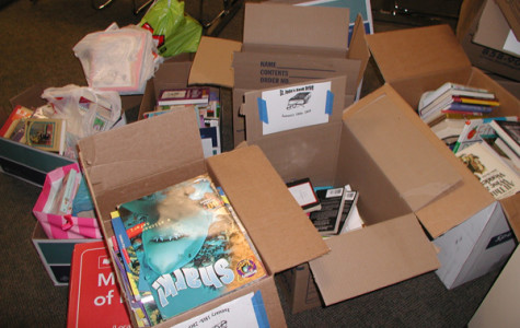 NHS Book Drive lightens load at St Jude's (update)