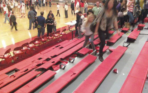 Repair cost determined for bleacher incidents