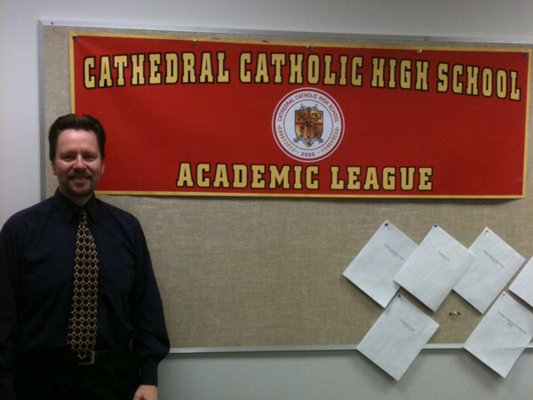 Members of CCHS Academic League demonstrate intelligence