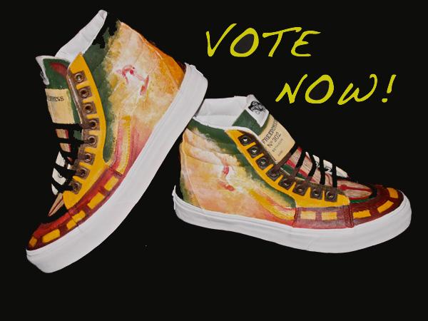 c56b2cbe8886e5 Vote in shoe design contest! – SLIDESHOW – El Cid