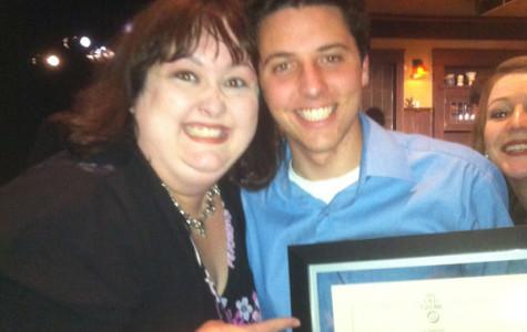 Senior Michael Mahady wins Globe Honors Competition