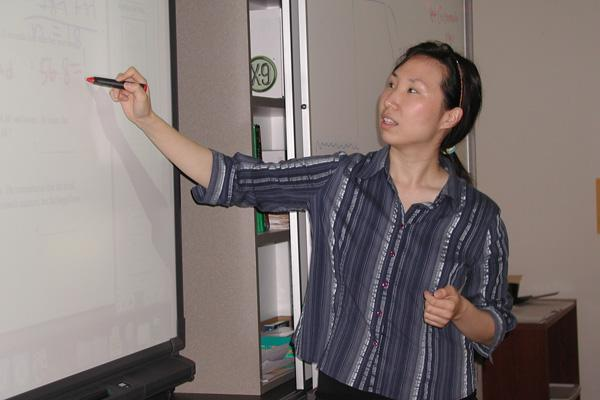 Ms. Lim, new addition to CCHS math department