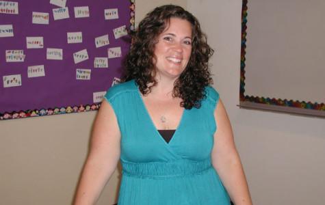 Mrs. Garcia, newest addition to CCHS Language Dept.