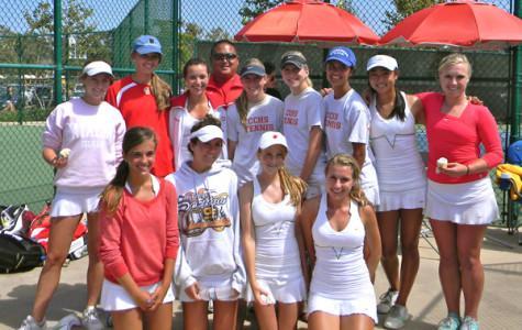 Girls tennis, 2010 CIF Champions, begin fall 2011 season
