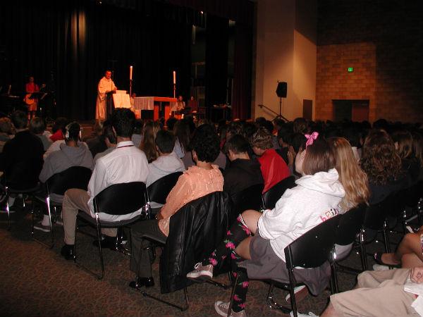 Class masses enhance the faith of CCHS students
