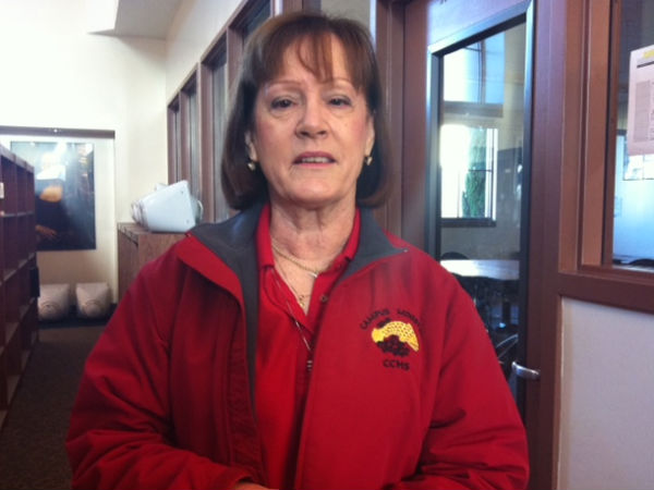 Mrs. Price explains new Christian Service Hours program