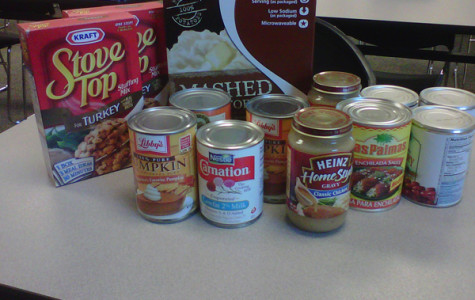 Annual Thanksgiving Food Drive sets in motion