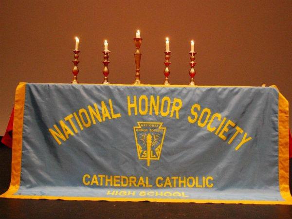 Banquet celebrates National Honors Society inductees