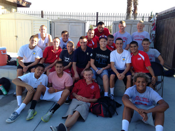 Boys water polo wins CIF division title