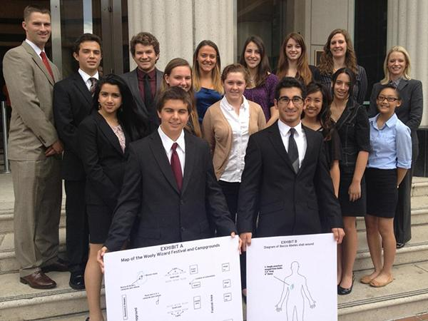 Mock Trial team begins quest for state championship