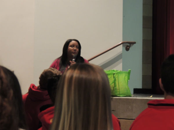 Science classes learn about becoming organ donors