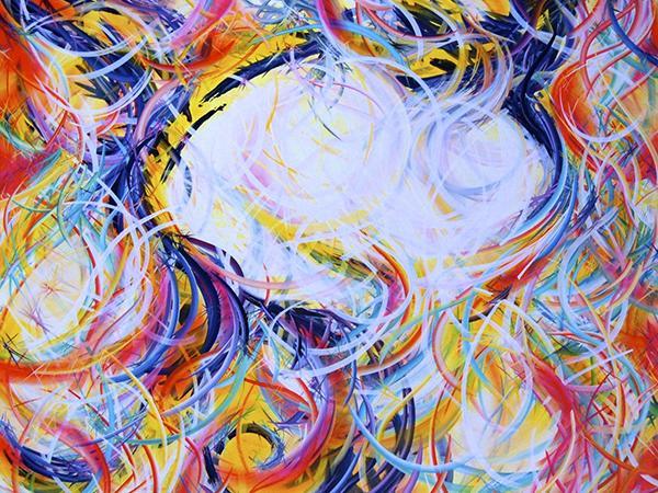 Artist/Alum Mike Carini brightens Kolbe Center (video clip)