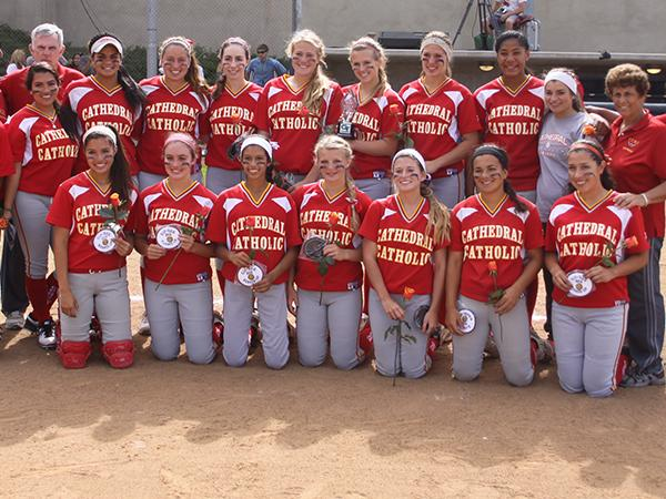 Softball exceeds expectations, almost