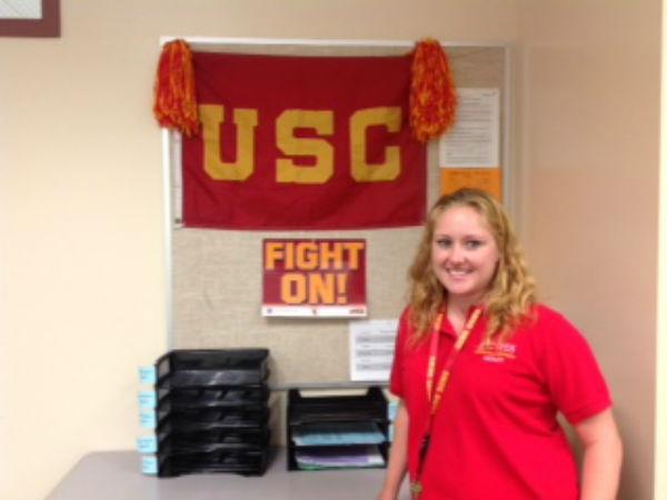 University of San Diego High School teacher returns home
