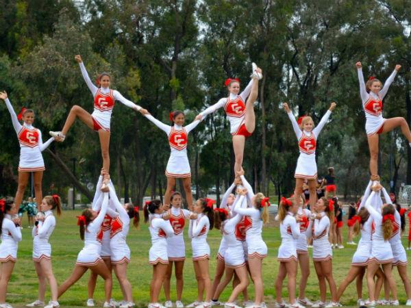 Cheer team prepares for a long year