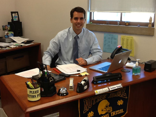 Mr. Dunn looking forward to student success