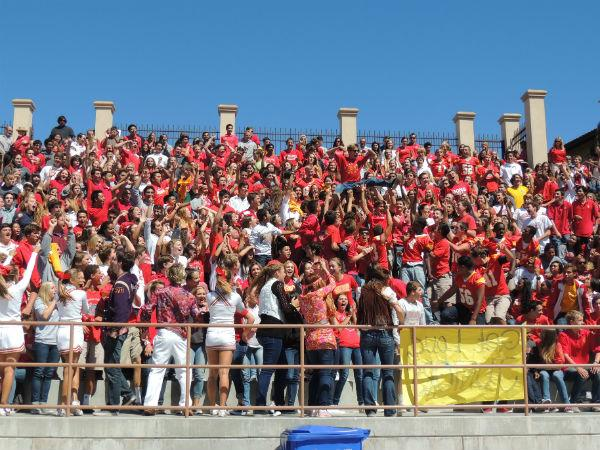 Fall rally gives students the chance to show school spirit