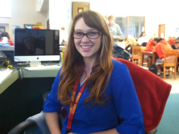 Ms. Egan becomes new Library Technical Assistant