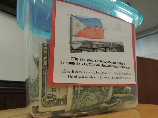 Lumpia sale this Friday will raise money for typhoon relief