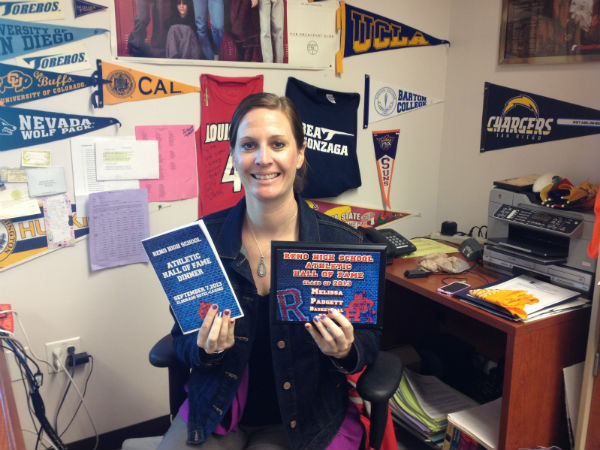 Ms. Padgett transitions from coach to involved educator