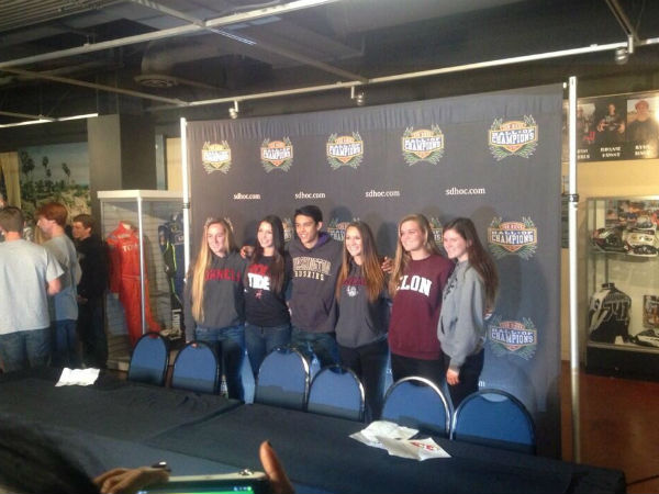 Dons athletes commit on National Signing Day