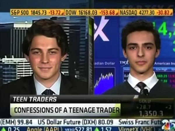 Junior Austin Schwab appears on CNBC to talk economics