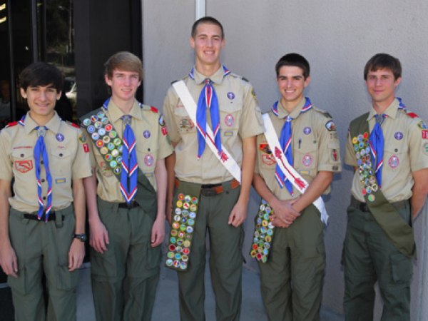 Charlie Molitor earns the title of Eagle Scout