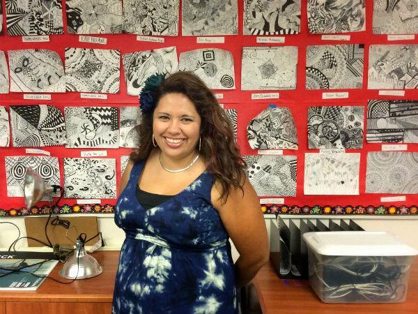 Mrs. Karla Scarff joins staff of CCHS art department