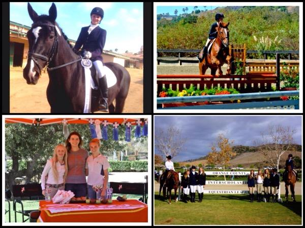 Equestrian players